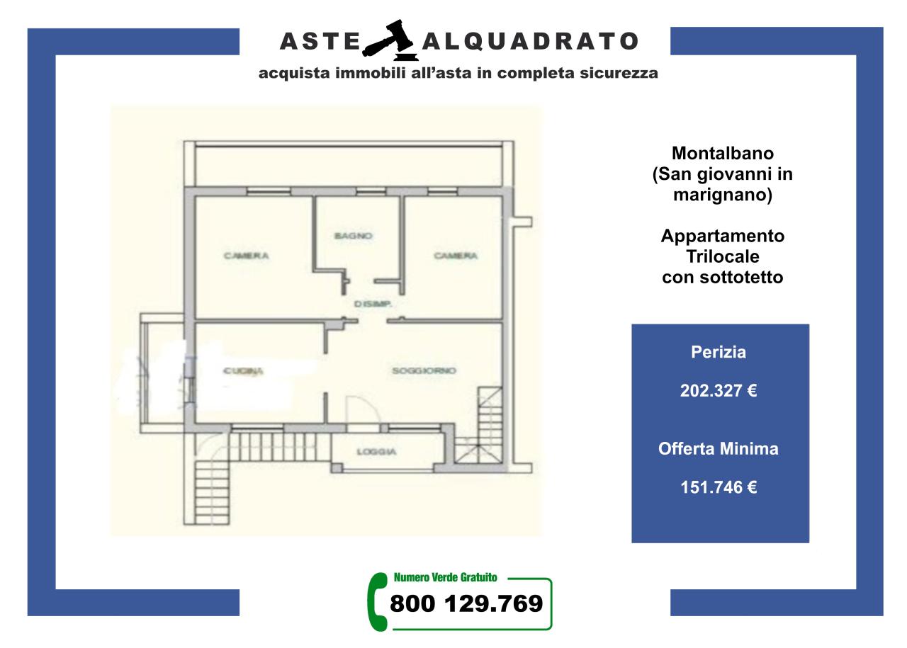 Appartamento in vendita a San Giovanni in Marignano, 3 locali, prezzo € 151.746 | PortaleAgenzieImmobiliari.it
