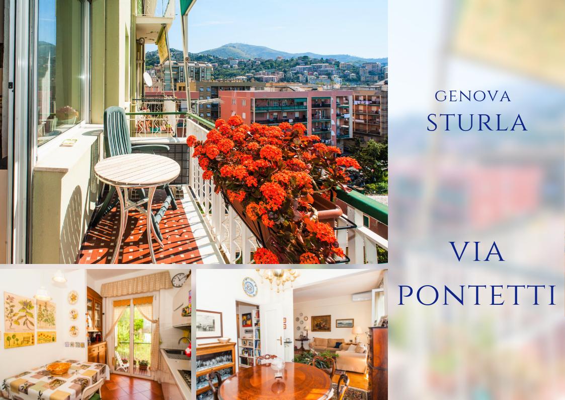Appartamento a Sturla, Genova