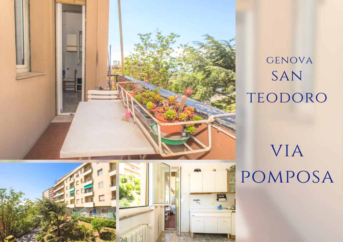 Appartamento a San Teodoro, Genova