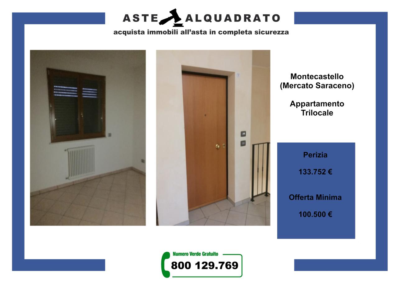 Appartamento in vendita a Mercato Saraceno, 3 locali, prezzo € 100.500 | CambioCasa.it