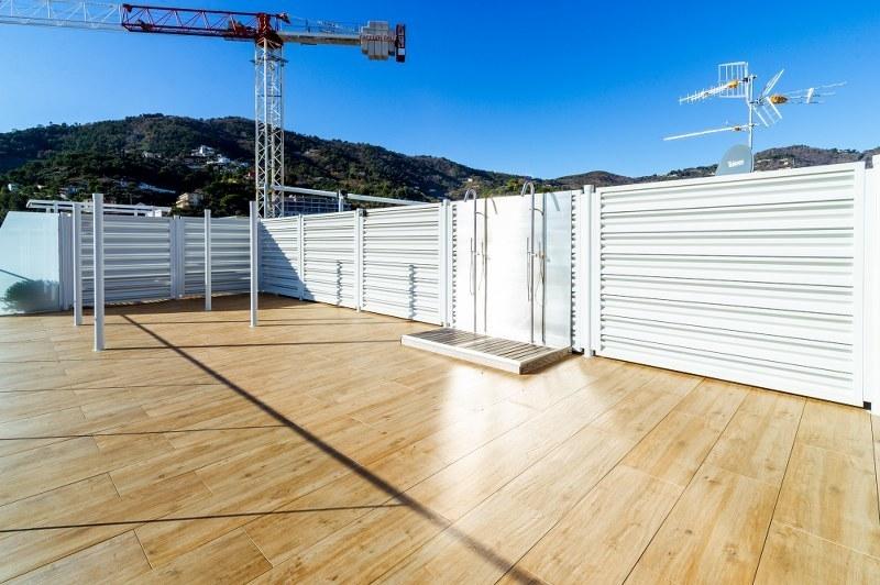 Attico fronte mare nuova costruzione 1A312