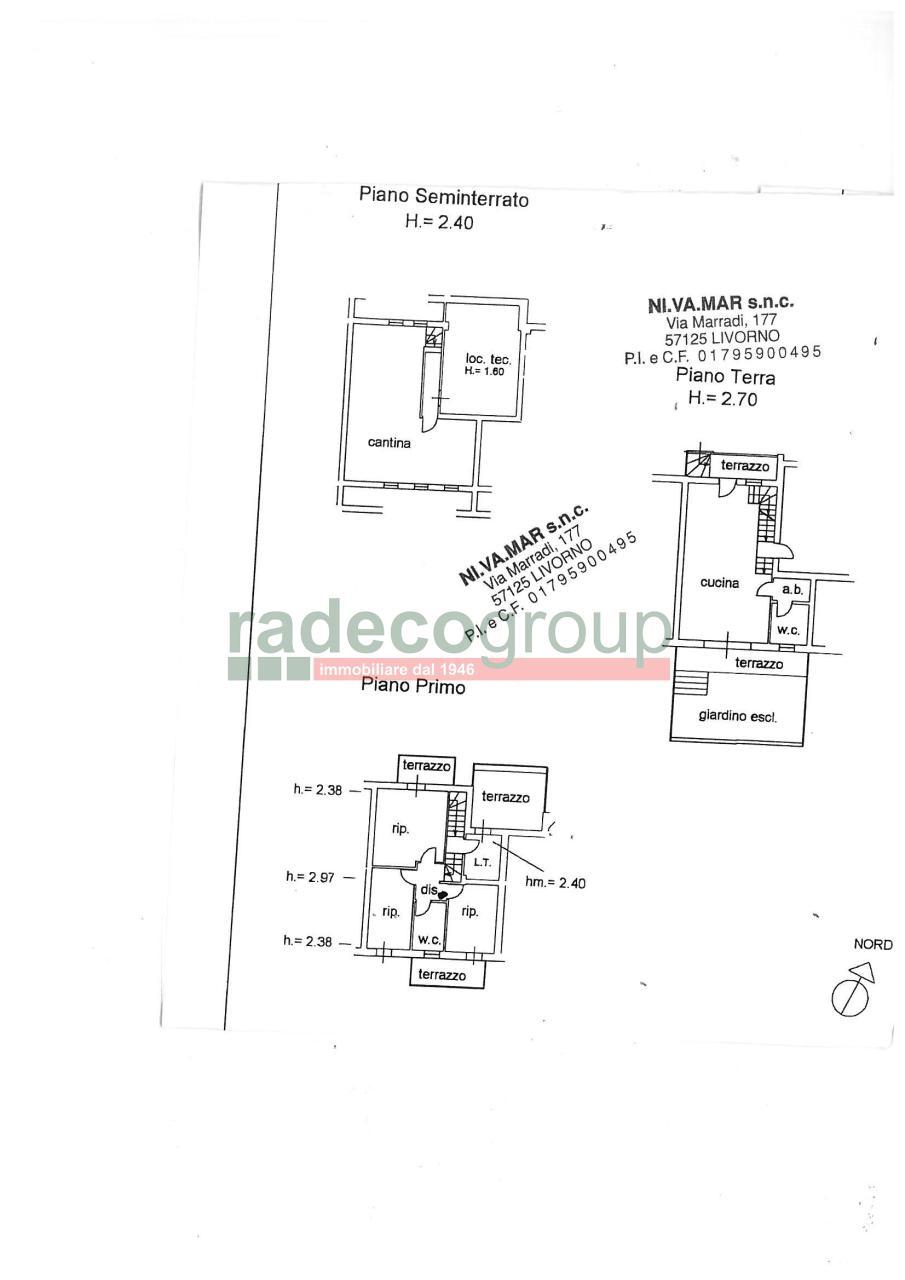 Villetta a schiera in vendita Rif. 7359287