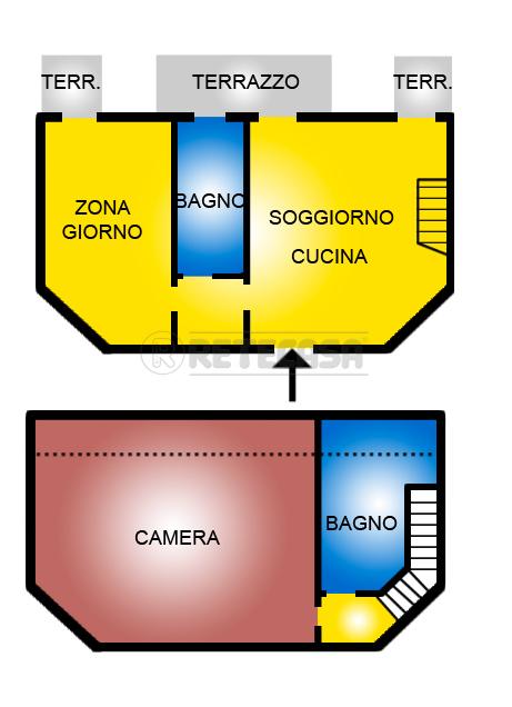 Appartamento in vendita a Grantorto, 5 locali, prezzo € 118.000 | CambioCasa.it