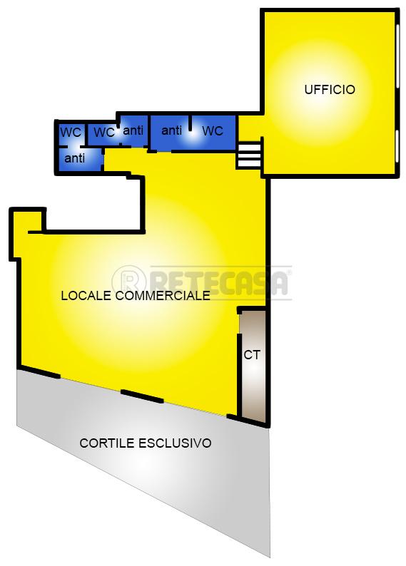 Negozio / Locale in affitto a Altamura, 2 locali, prezzo € 1.400   CambioCasa.it