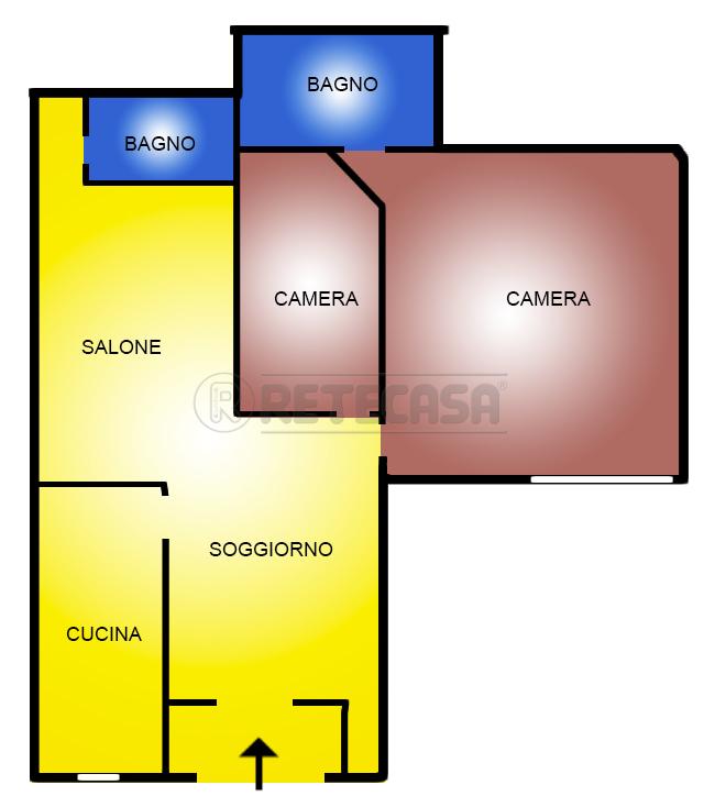 Trilocale da ristrutturare in vendita Rif. 11178805