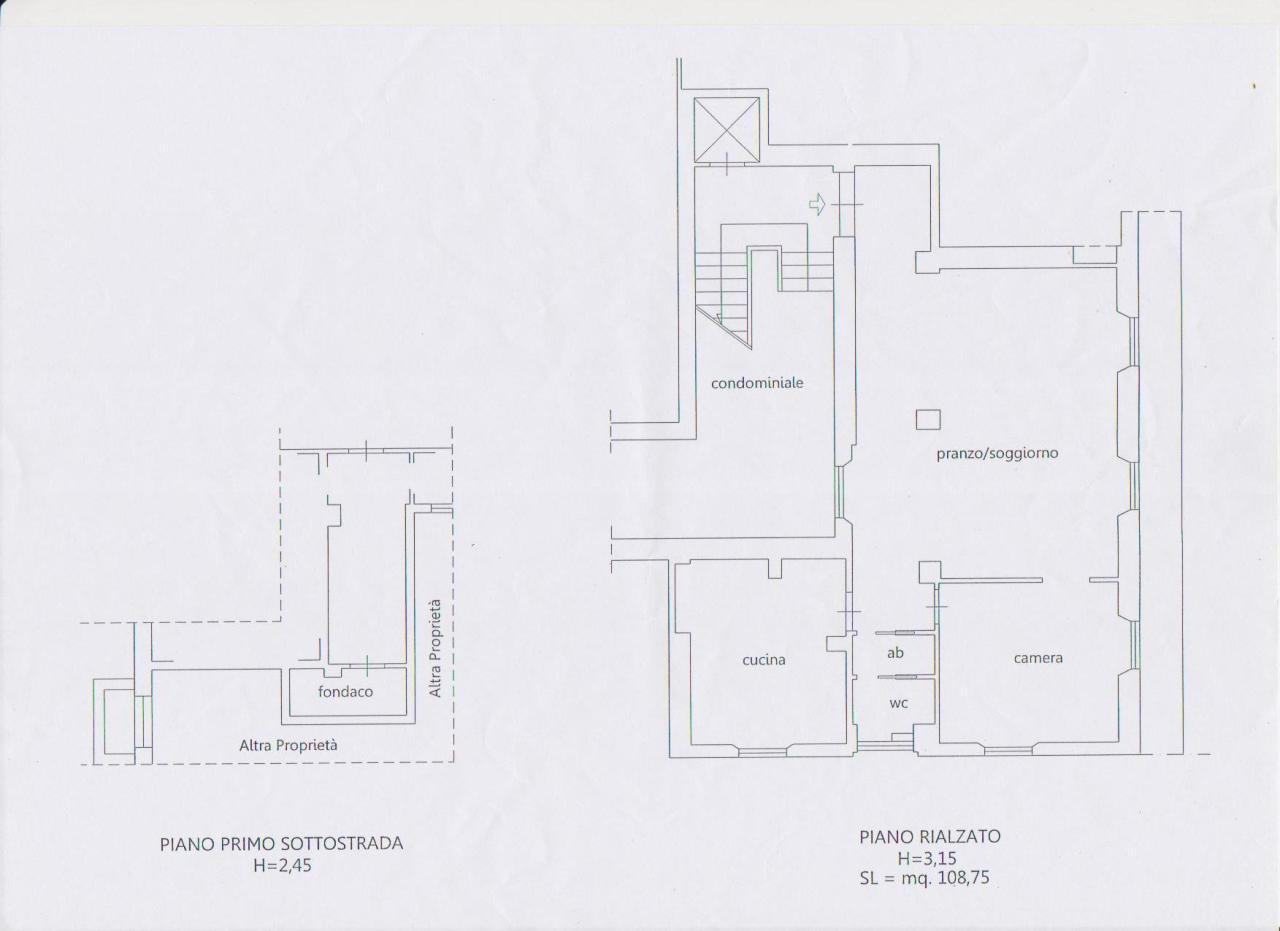 Appartamento - 1 vano letto a Ascoli Piceno