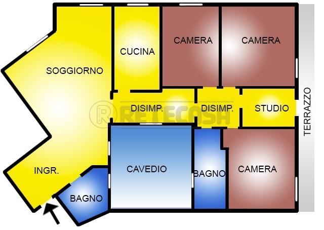 Appartamento - Esavani a 15.Malpighi, Bologna