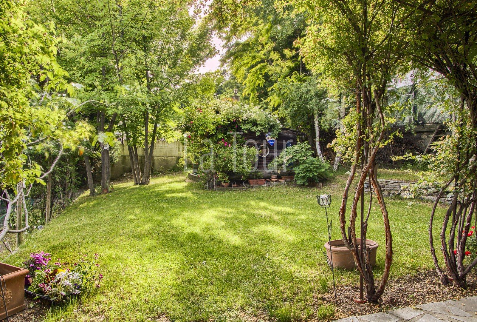 giardino lato Ovest