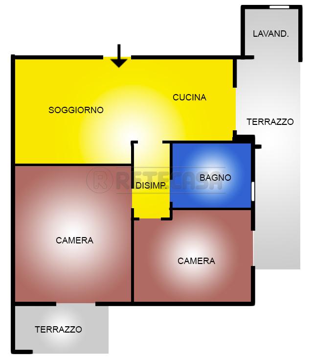 Appartamento in vendita a San Giovanni Teatino, 3 locali, prezzo € 115.000 | PortaleAgenzieImmobiliari.it