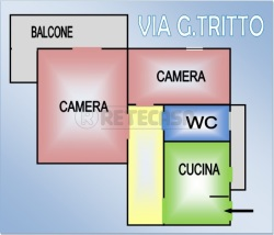 Bilocale in Vendita a Napoli, zona san carlo arena, 120'000€,