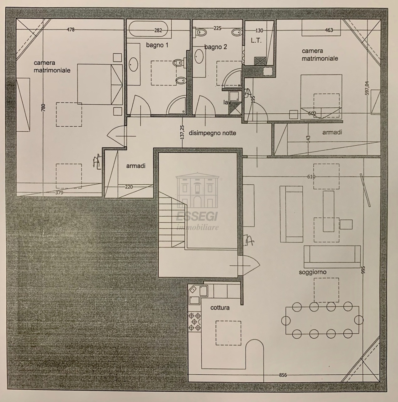 Appartamento Lucca Circonvallazione IA01661 img 34