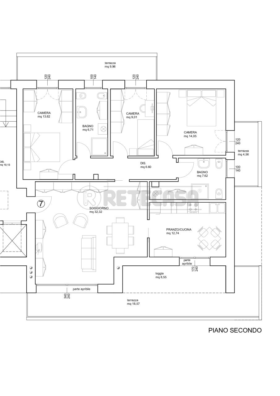 Attico / Mansarda in vendita a Mirano, 5 locali, prezzo € 350.000 | PortaleAgenzieImmobiliari.it