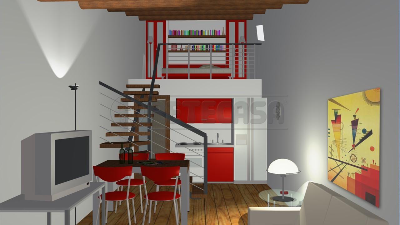 Appartamento - Mansarda a Centro Storico, Mantova