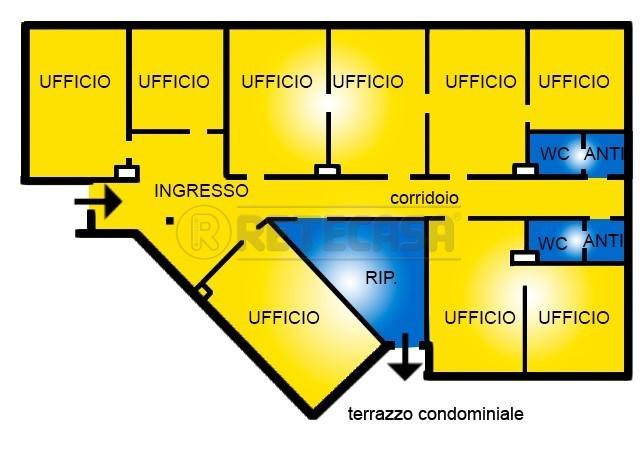 Ufficio / Studio in affitto a Bassano del Grappa, 10 locali, prezzo € 2.500 | CambioCasa.it