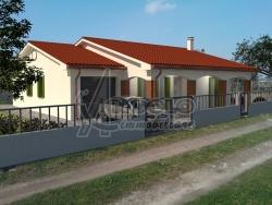 Villa in Vendita a Rovigo, zona FRAZIONI-PERIFERIA, 249'000€, 157 m², con Box