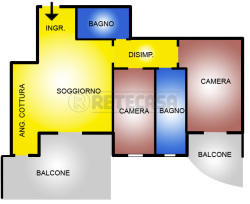 Trilocale in Vendita a Pescara, zona portanuova, 250'000€, 89 m²