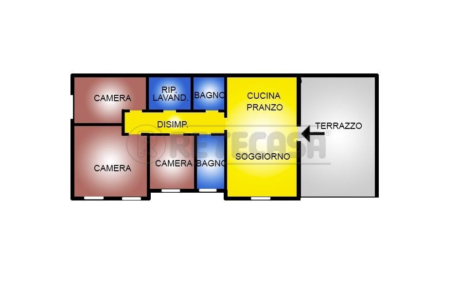 Appartamento in affitto a San Giovanni Ilarione, 5 locali, prezzo € 650 | CambioCasa.it