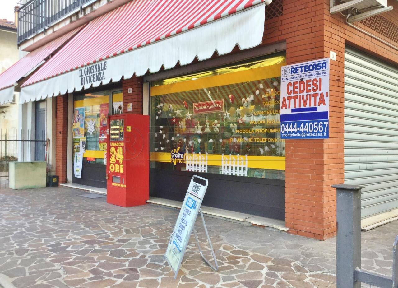 Tabacchi / Ricevitoria in vendita a Arzignano, 3 locali, prezzo € 80.000   CambioCasa.it
