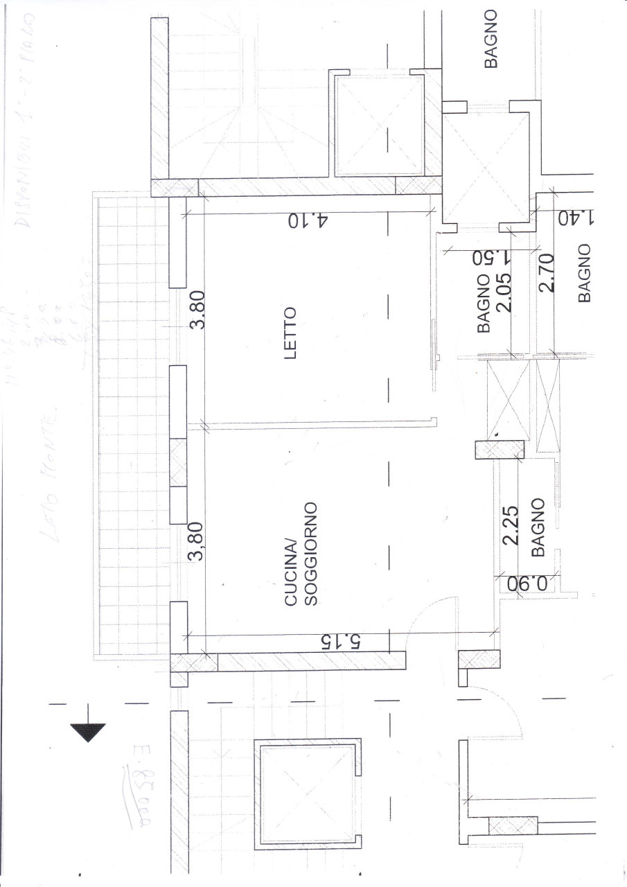 Appartamento in vendita a Reggio Calabria, 2 locali, prezzo € 85.000   CambioCasa.it