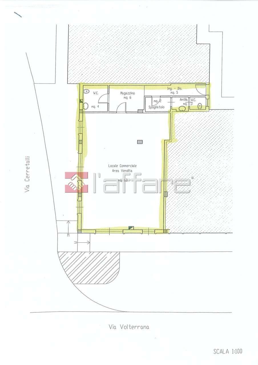 Fondo - Commerciale a Capannoli Rif. 4143759