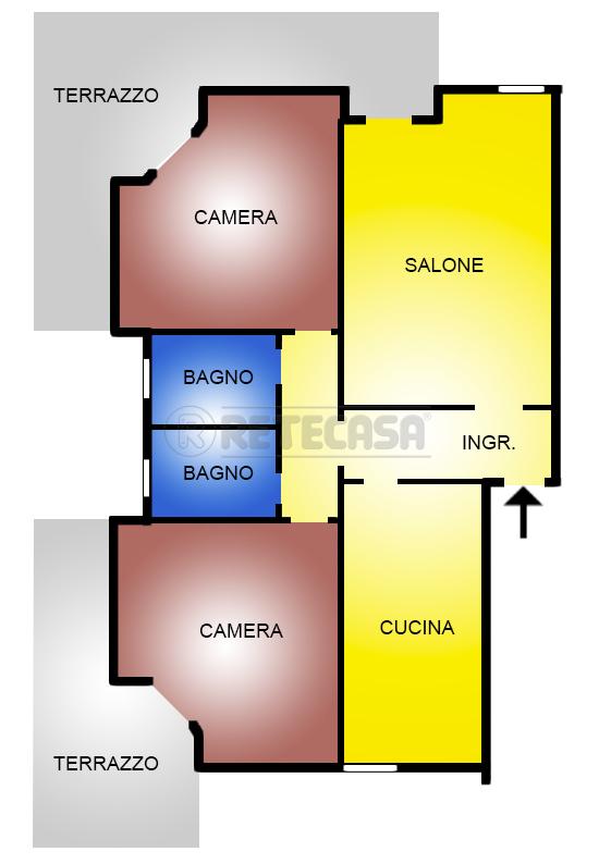 Appartamento in vendita Rif. 11173688