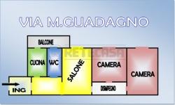 Trilocale in Vendita a Napoli, zona san carlo arena, 170'000€, 80 m²