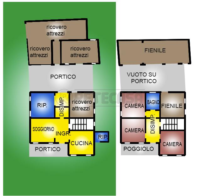 Casa Indipendente in discrete condizioni in vendita Rif. 10825558
