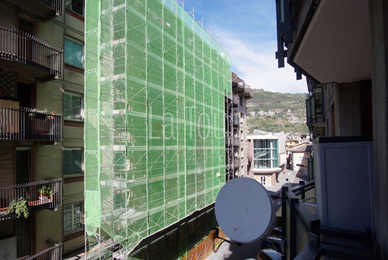 via Trottechien vista dal balcone