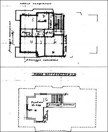 Appartamento in discrete condizioni in vendita Rif. 4152068