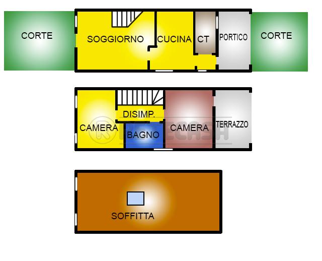 Casa Indipendente ristrutturato in vendita Rif. 10709182