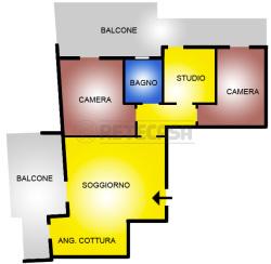 Quadrilocale in Vendita a Pescara, 267'000€, 106 m²