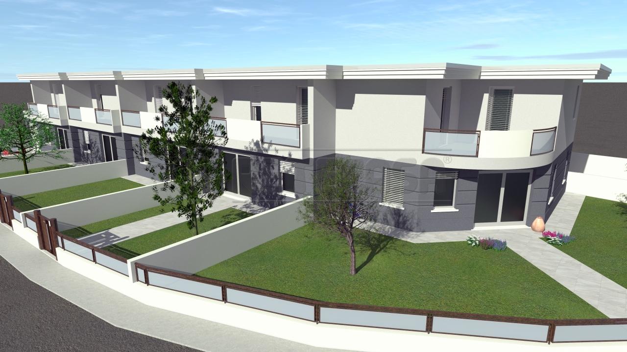 Villa a Schiera in vendita a Curtatone, 8 locali, prezzo € 240.000 | CambioCasa.it