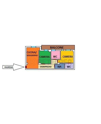 Attico / Mansarda ristrutturato in vendita Rif. 9863168