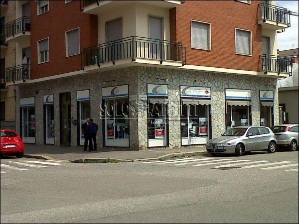 Fondo/negozio 2 vetrine/luci