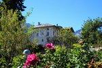 bilocale con giardino in vendita