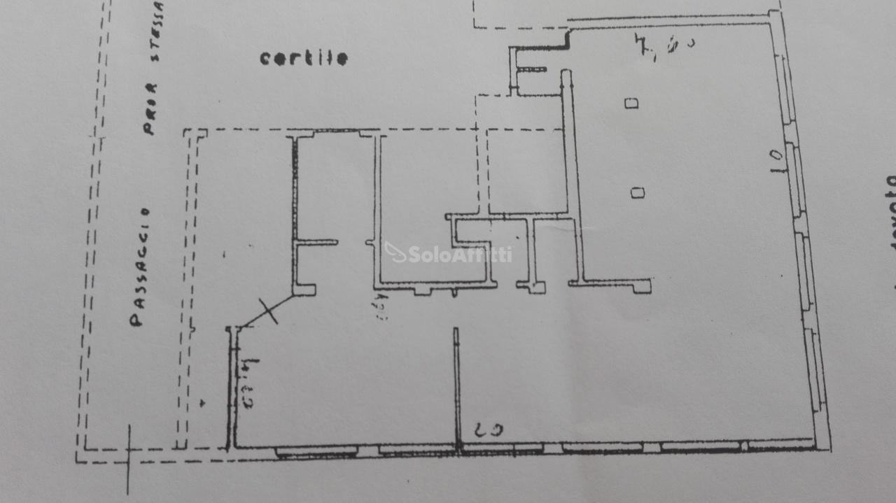 Ufficio - 3 locali a Lodi - Corsica, Milano Rif. 12171471