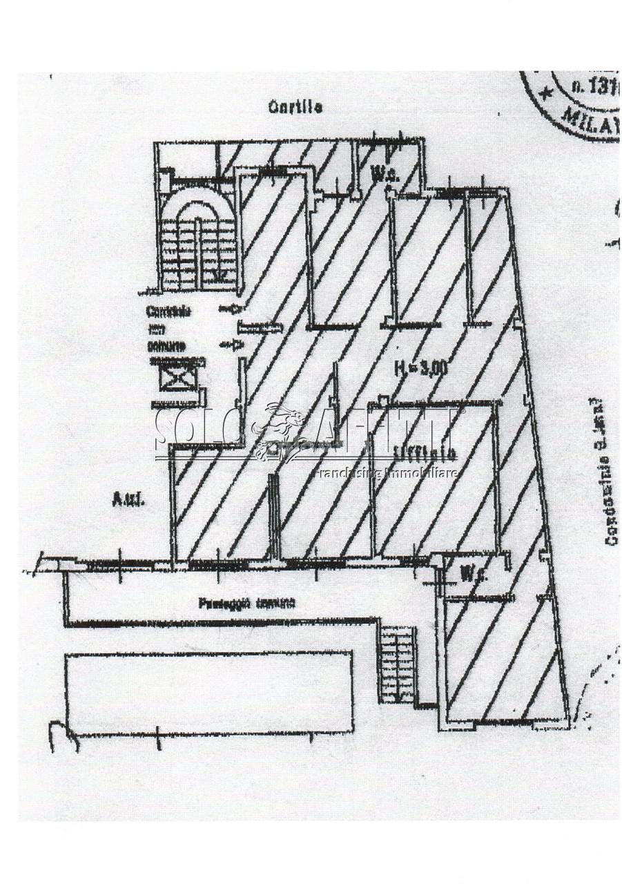 Ufficio - oltre 4 locali a Buenos Aires - Venezia, Milano Rif. 12171456