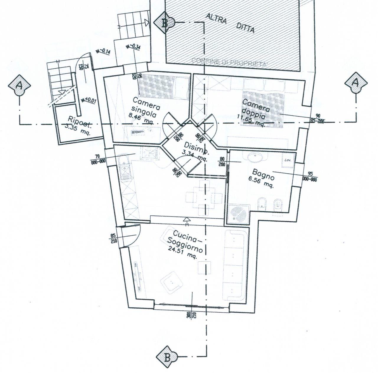 progetto appartamento p.t.