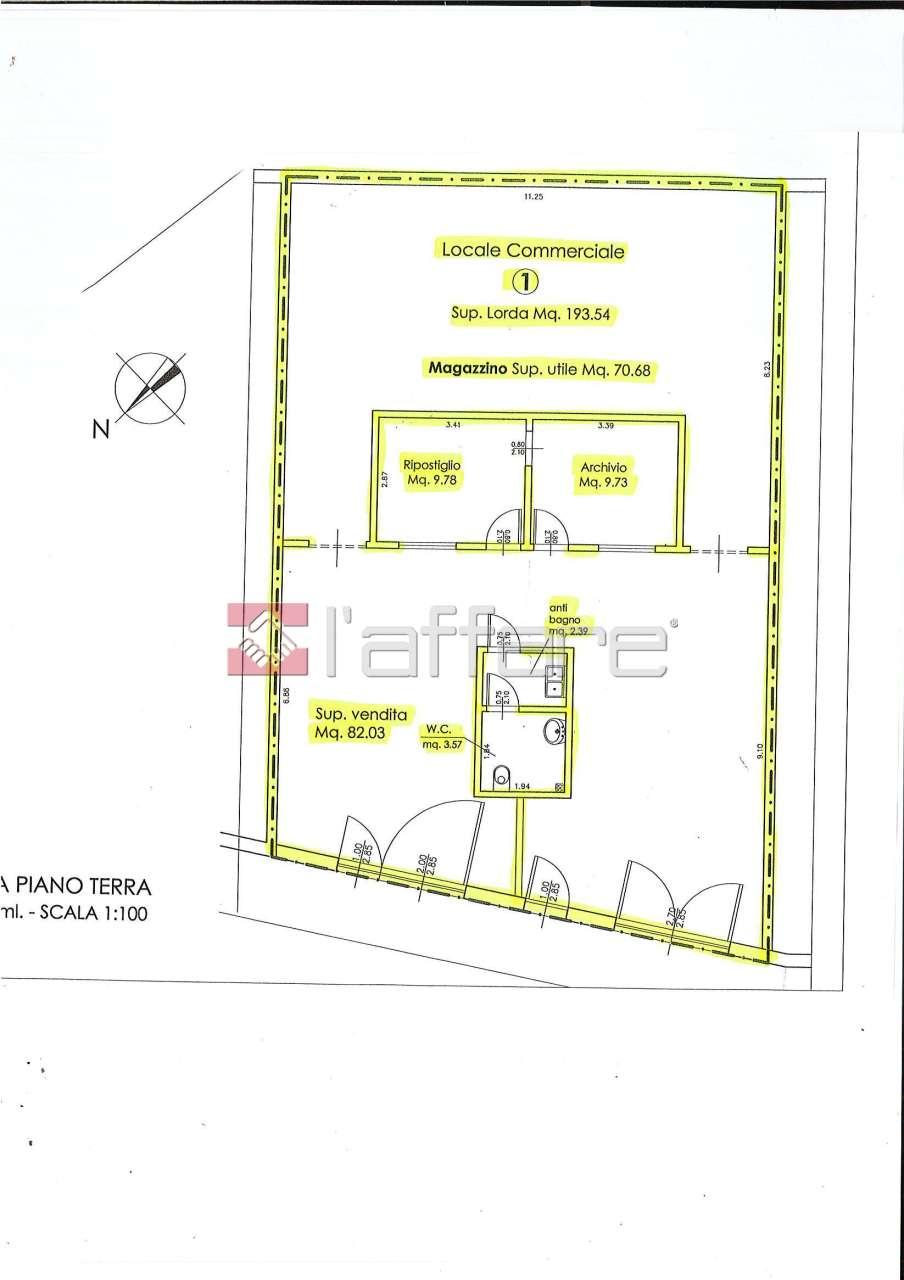Fondo - Commerciale a Capannoli Rif. 4143854