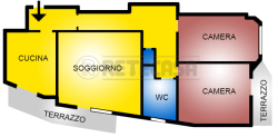 Trilocale in Vendita a Pescara, 139'000€, 93 m², con Box