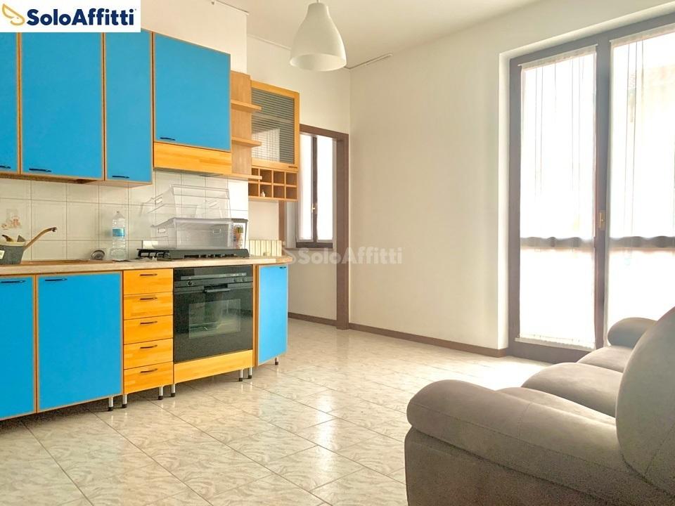 soggiorno con cucina vista