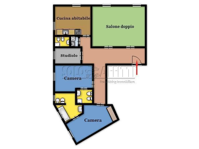 Appartamento Quadrilocale 135 mq.