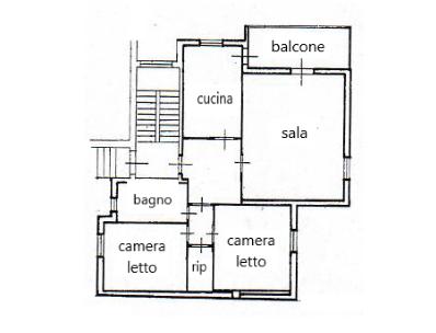 Appartamento Trilocale 130 mq.