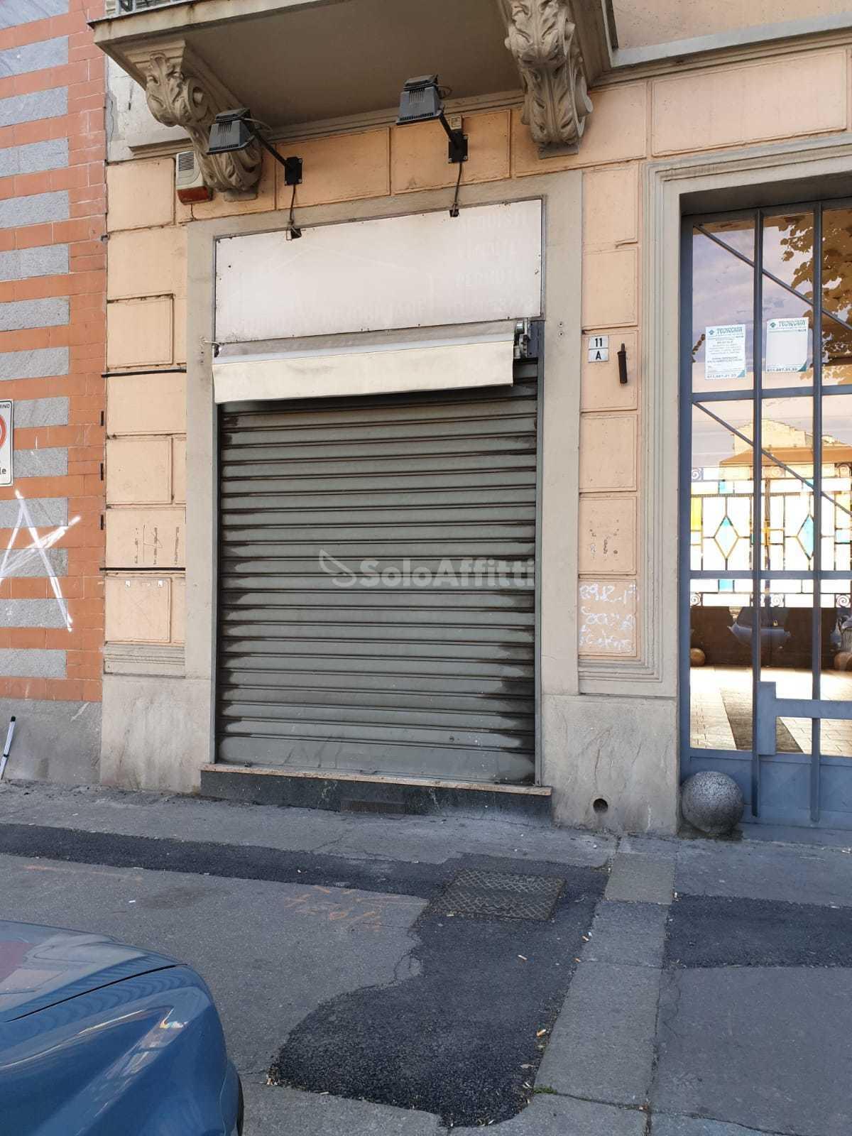 Fondo/negozio 1 vetrina/luce Arredato