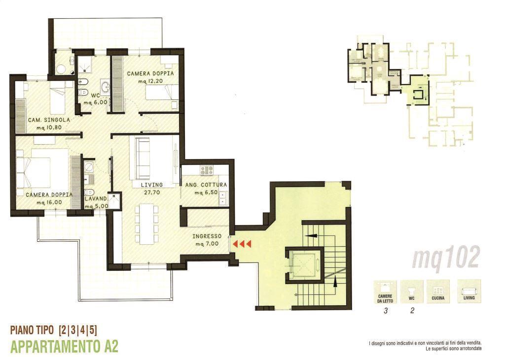 Appartamento in vendita a Modica, 4 locali, prezzo € 220.000 | PortaleAgenzieImmobiliari.it