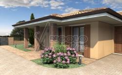 Villa in Vendita a Rovigo, zona FRAZIONI-PERIFERIA, 244'000€, 153 m², con Box