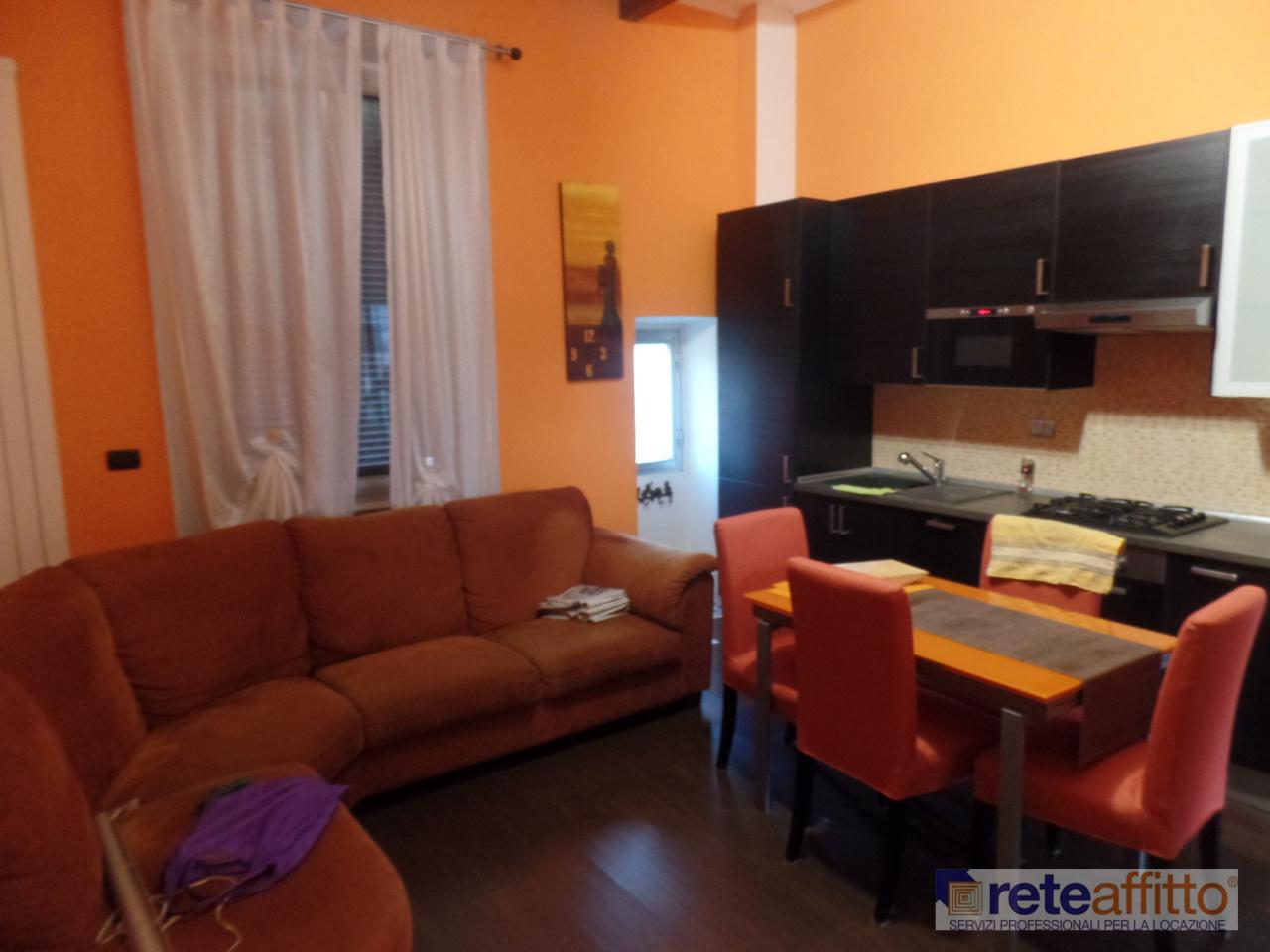 Bilocale in buone condizioni arredato in affitto Rif. 11666341