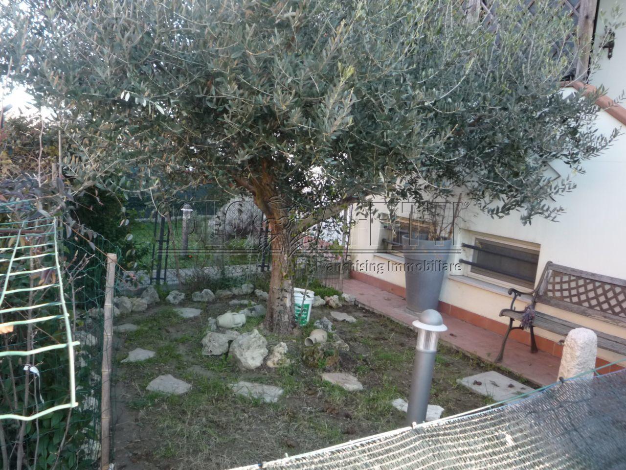 ingresso in giardino