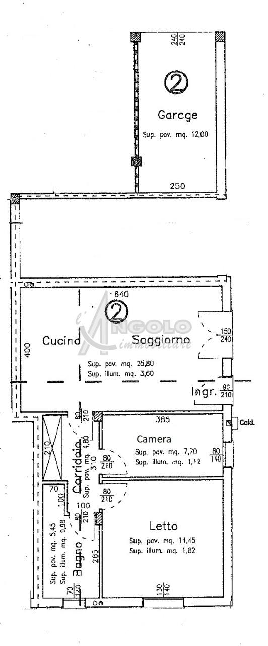 Appartamento in affitto a Occhiobello, 3 locali, prezzo € 470   CambioCasa.it