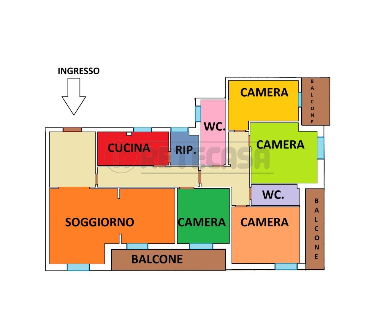 Appartamento in vendita Rif. 10165016
